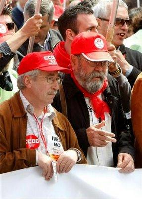 Toxo y Candido, los arcangeles del Plan de Ordenacion de RRHH en Aragón. Falta el Arcangel de CSI-F