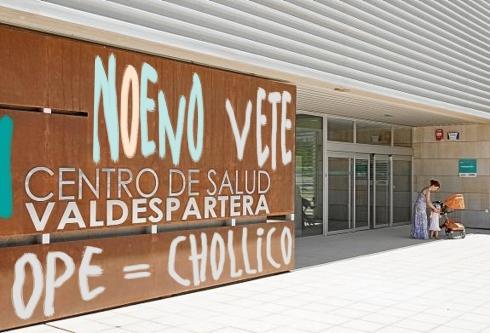 Centro de Salud Valdespartera. Fotocomposición